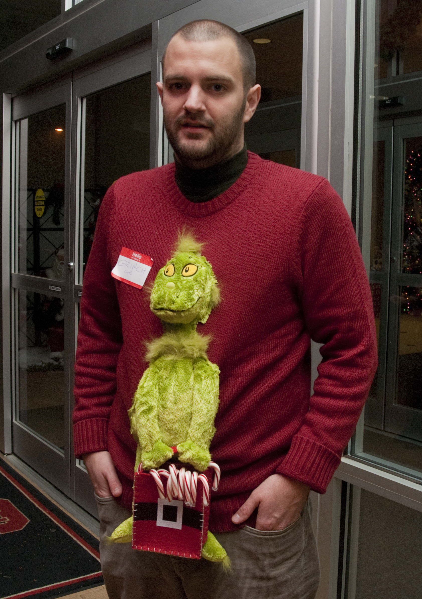 The Grinch Christmas Sweater.The Grinch Who Couldn T Steal A Victory At His Company S